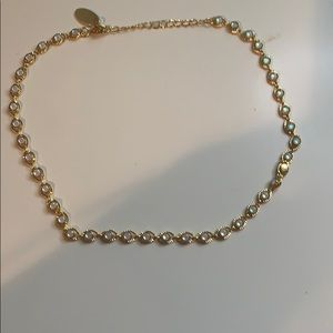 Jewelry - Gold Link Chain Choker Necklace